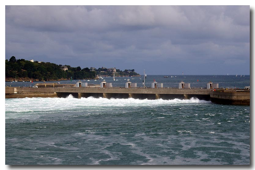 Barrage et usine marémotrice de la Rance 11aout