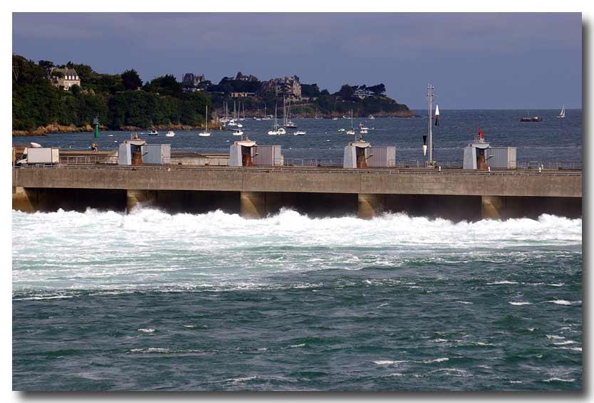 Barrage et usine marémotrice de la Rance Fond11